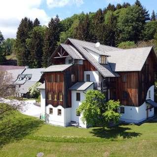 Leitenbauerhof Drohnenaufnahme